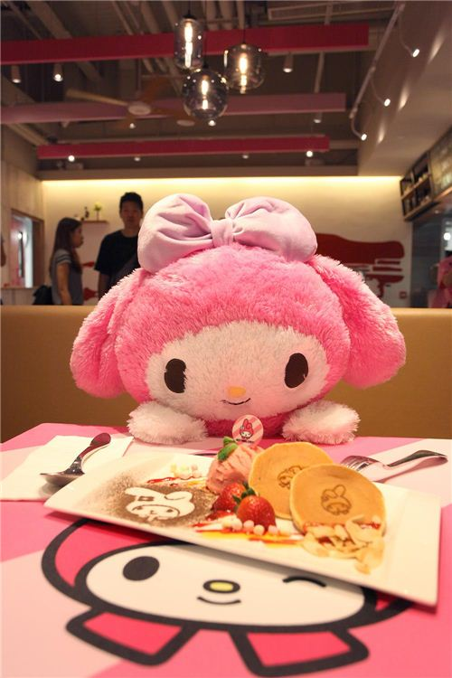 My Melody pancakes, photo by Langham Place