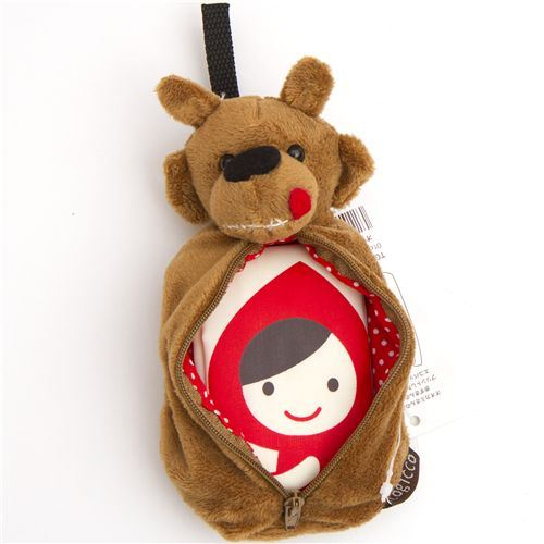 cute Little Red Riding Hood shopping bag wolf pouch