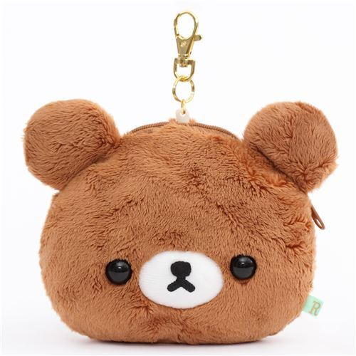 Kogumachan bear plush toy pass holder pass case San-X