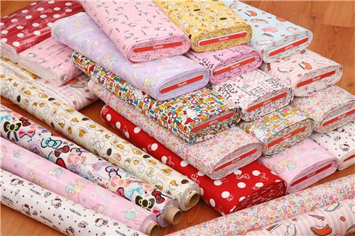 Check out all the lovely new Sanrio fabrics in our  shop