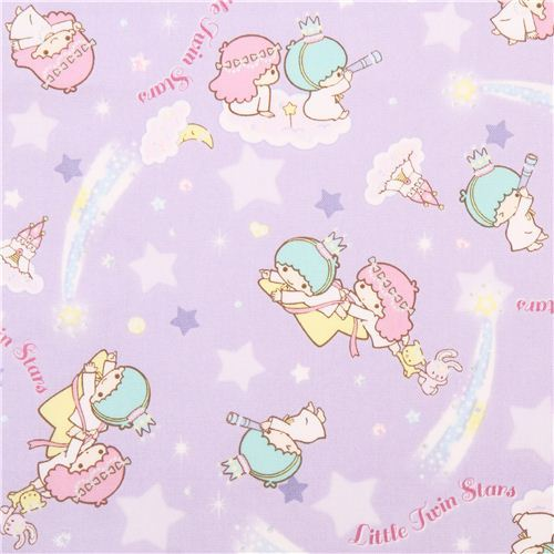 Dreamy. This Little Twin Stars star fabric witth castle in the clouds