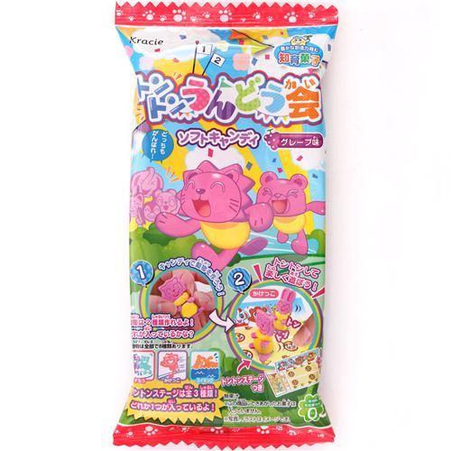 Popin' Cookin' Kracie Ton Ton Undoukai Sports Day DIY Candy game