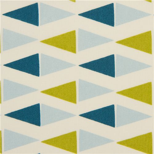 cream maritime birch flags organic fabric Flags petrol