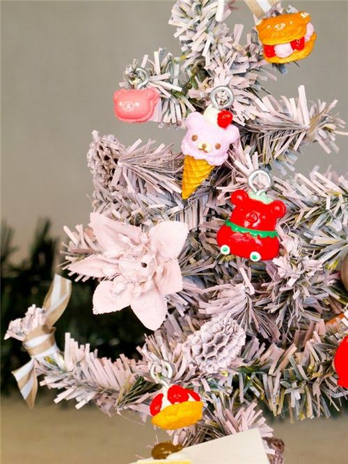 Fun Rilakkuma charm Christmas tree on Pinterest
