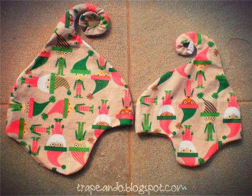 Christmas elf hats on Pinterest