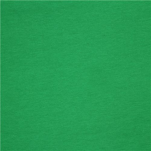 green Michael Miller knit fabric from the USA Solid