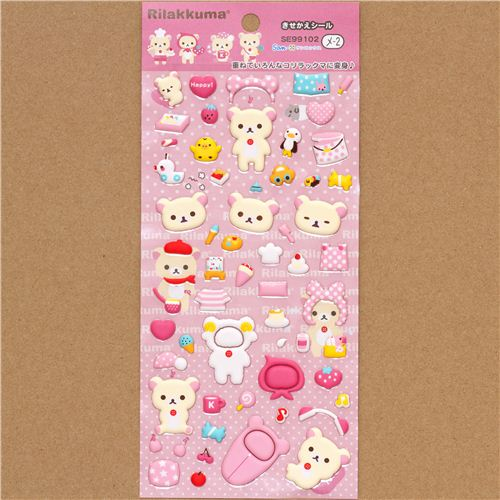 Dress up Korilakkuma in the cutest outfits ever!