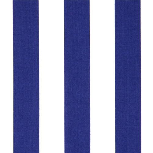 white-blue striped Timeless Treasures fabric from the USA