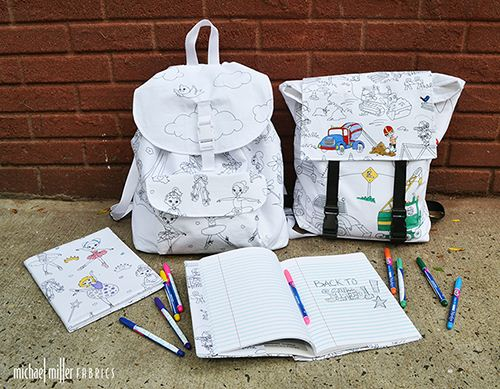 Accessories like these great school bags can even be altered during a short break.