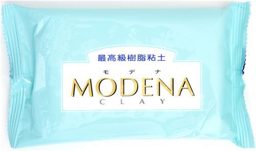 white soft & translucent Modena clay Japan