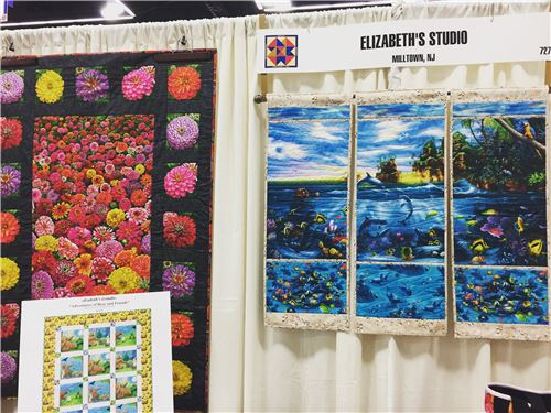 Elizabeth's Studio booth display
