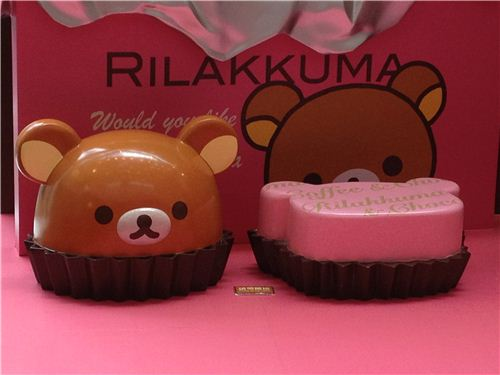 These super kawaii Rilakkuma chocolates are probably almost 50cm high