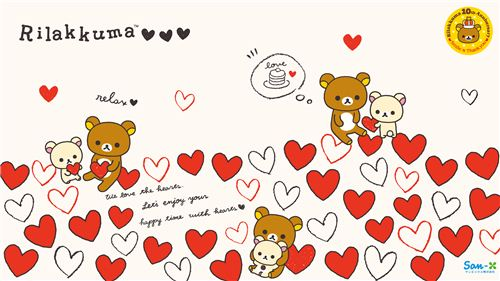 We wish you a kawaii Valentine's Day with lots of hearts and love