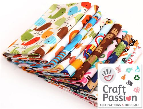 Win this cute fabric bundle in our Robert Kaufman Fabric Giveaway on Craft Passion