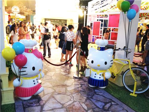 Hello Kitty and Dear Daniel welcome visitors