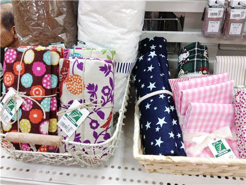 You can also buy lots of fabric bundles