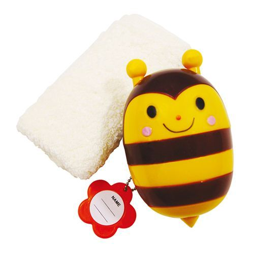 kawaii towel with bee box set from Japan