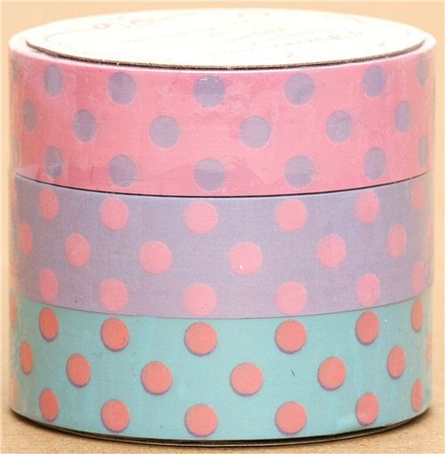 Sticky Tape set with Dots