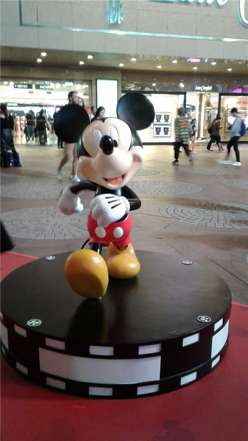 Hello there, Mickey!