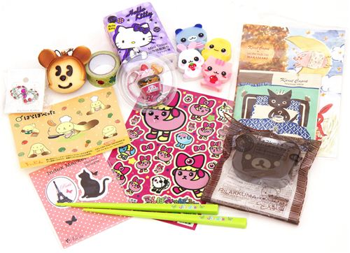 Juliane wins kawaii package No. 5