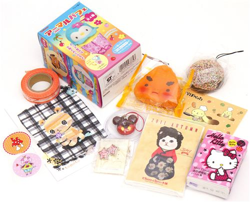 Becky wins kawaii package No. 3