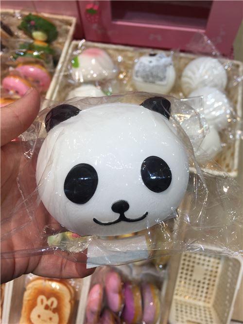 A panda squishy