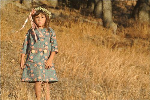 stunning girl's dress, photo from birch.com