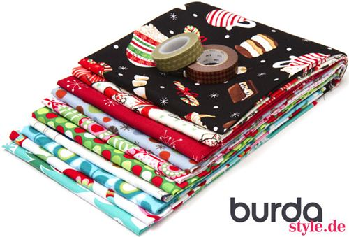 You can win this prize package in the burdastyle.de advent calendar