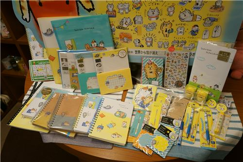 Notebooks and stationery