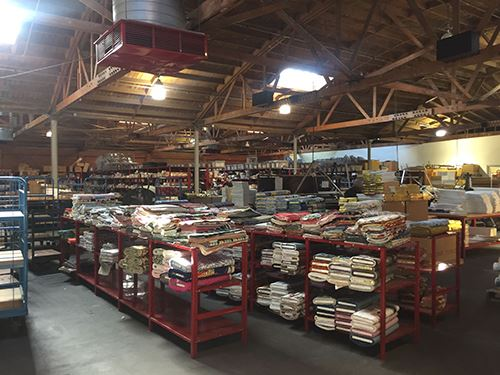 Fabrics as far as the eye can see!