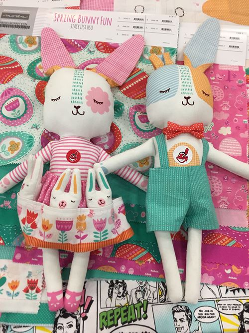 These bunnies by Moda are lovely