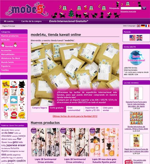 Check out the Spanish version of modes4u.com