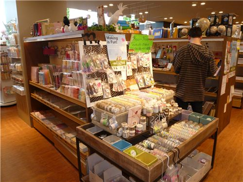 There is an extra mt section with lots and lots of Washi tapes