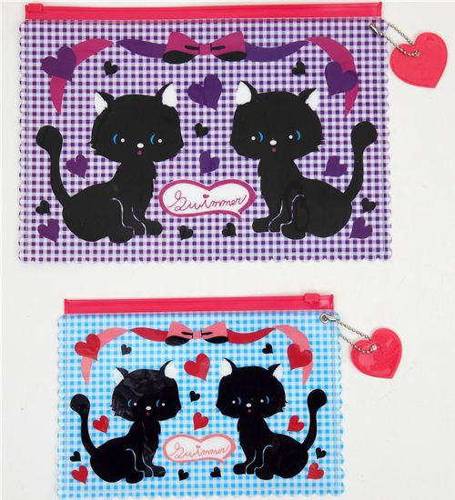 SWIMMER zipper bag cats