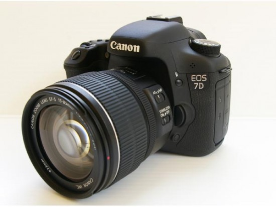 our new camera Canon 7D