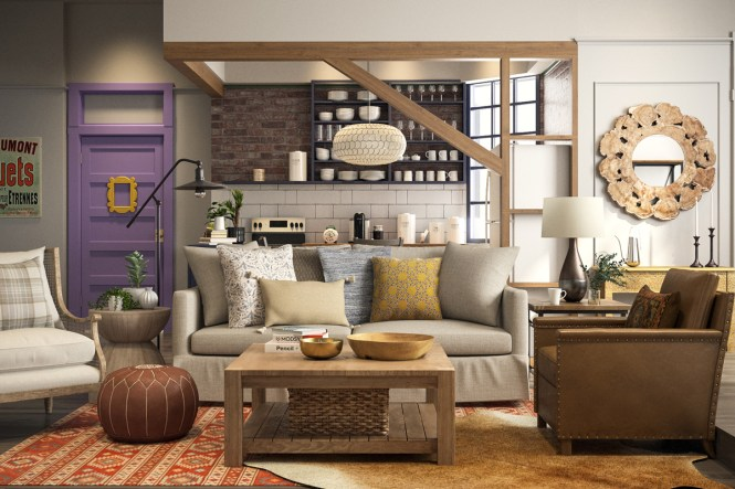 Friends Apartment Gets A 2018 Makeover