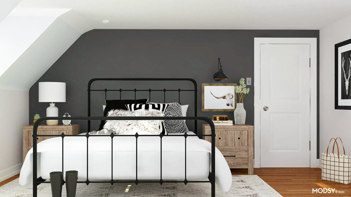 Accent Wall Ideas 9 Out Of The Box Accent Wall Designs Modsy Blog