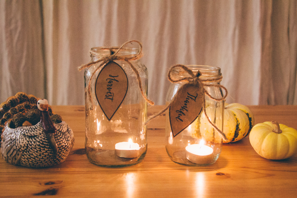 Thanksgiving Mason Jar Candles Mollie S Kitchen