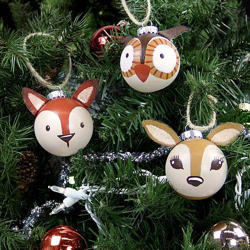 02-2051_3-d-woodland-ornaments