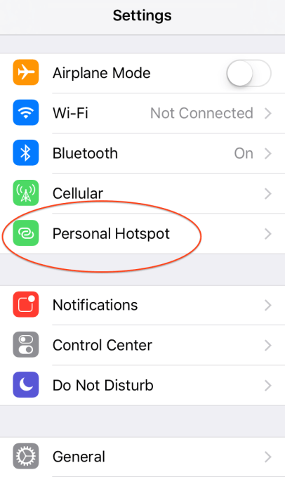 how to figure out wifi password on iphone using the iphone as a wi fi hotspot with apps 20830