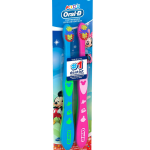 Tiny toothbrushes for brushing baby's teeth