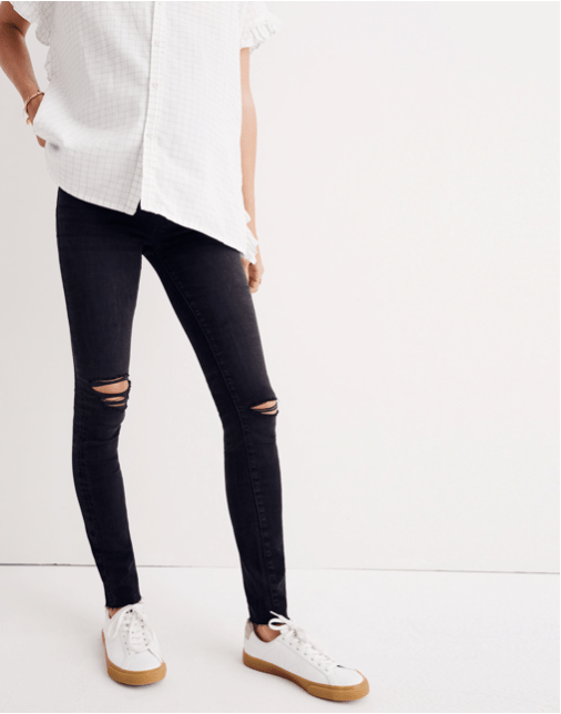 406867bb7ed74 Loose sweaters and breezy dresses might work well into your third trimester,  but your go-to jeans will stop working at some point during your pregnancy.