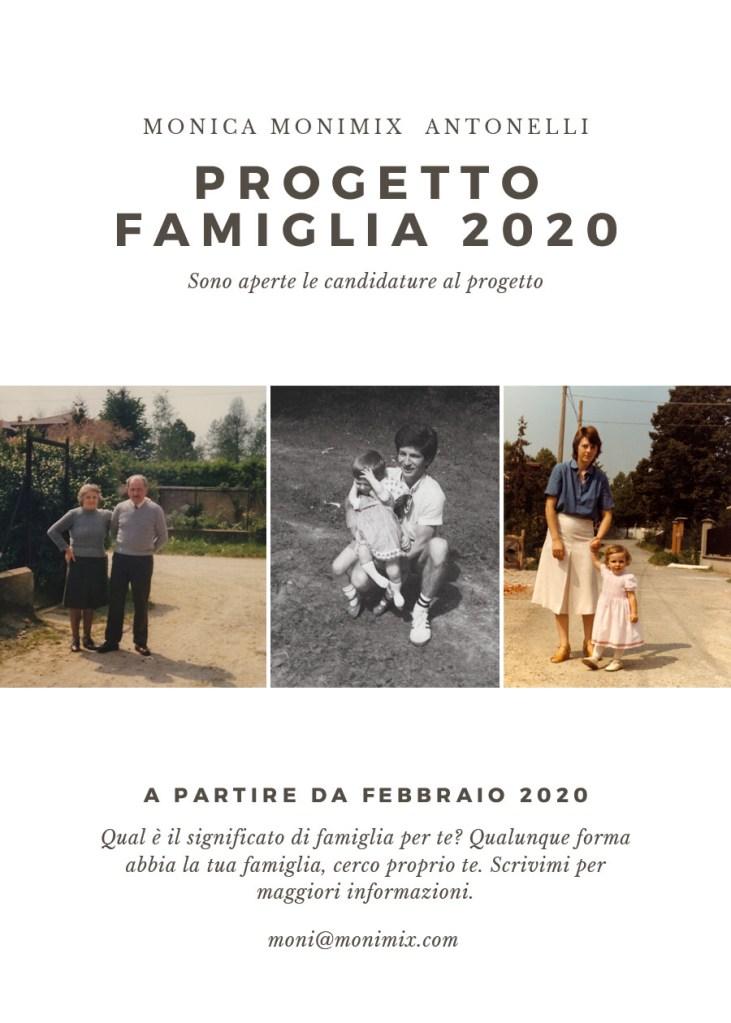 Ritratti di famiglia: un progetto a cura di Monica Monimix Antonelli