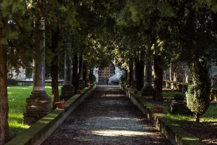 Parco Chiappa a Crema, luogo scelto da Sara per il suo ritratto del progetto Donne di Crema