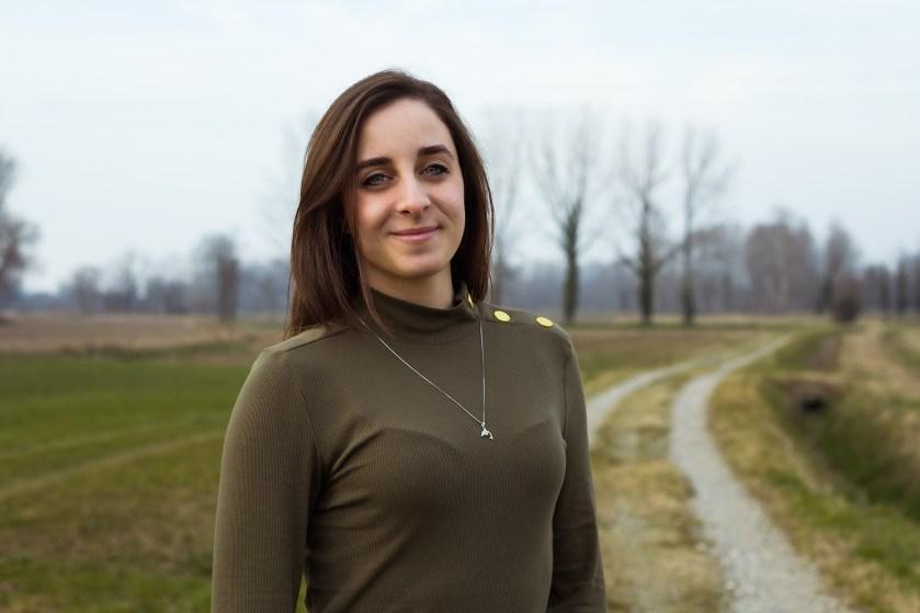 """Ritratto fotografico femminile a cura di Monica Monimix Antonelli, tratto dal progetto """"Donne di Crema"""""""