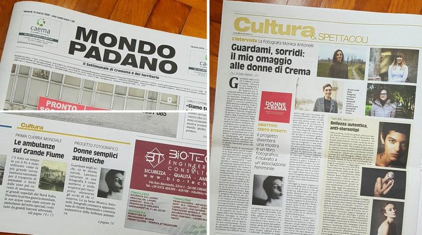 Intervista su Mondo Padano