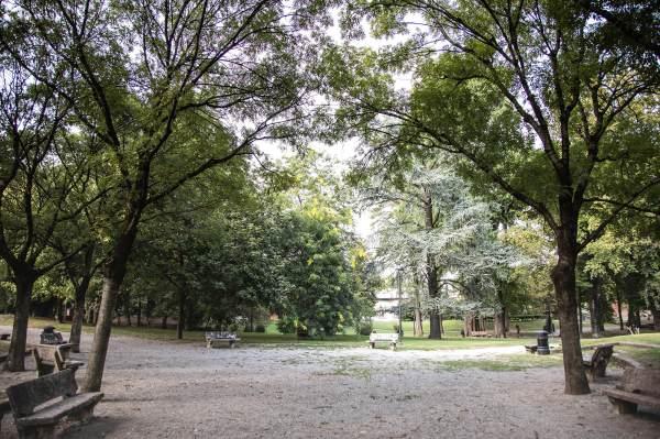 """I giardini di Crema (Cr), il luogo scelto da Lina per il suo ritratto per il progetto """"Donne di Crema"""" (C)Monica Monimix Antonelli"""