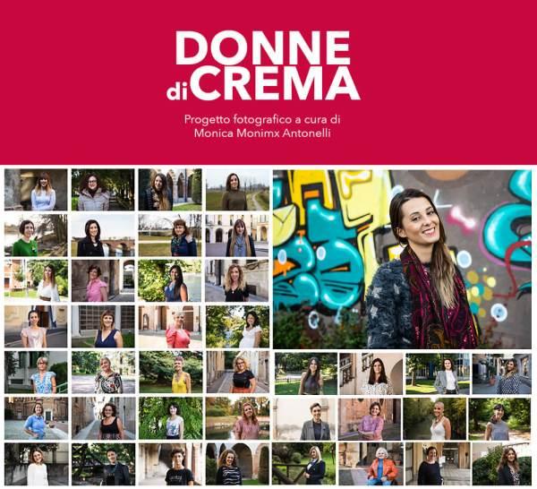 """I ritratti realizzati fino ad ora per il progetto """"Donne di Crema"""" (C)Monica Monimix Antonelli"""