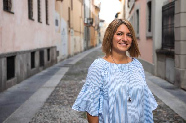 Il ritratto di Cristina per il progetto Donne di Crema (C)Monica Monimix Antonelli
