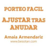 Ajustar (canguro) tras anudar, por Amaia Armendariz #PorteoFacil